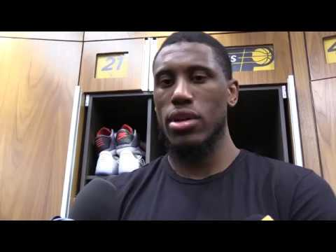 Postgame: Pacers Locker Room - March 24, 2017