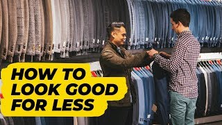 How To Save Money When Shopping For Clothes (6 budget-friendly tips) • Effortless Gent