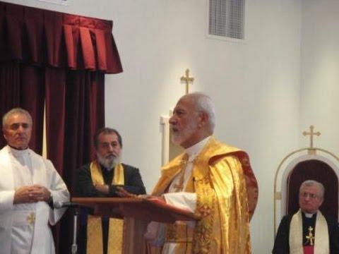 Assyrian Church Holy Mass-Mar Narsai DeBaz قداس كنيسة المشرق الأخير بصوت  مار نرساي دي باز