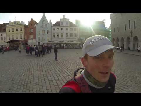 Running in Tallinn: Centre - Old Town - Telliskivi - Kalamaja