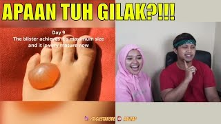 TRY NOT TO SAY WOW W/ INDIRA KALISTHA  - MUSTAHIL GILAK | AA UTAP MP3