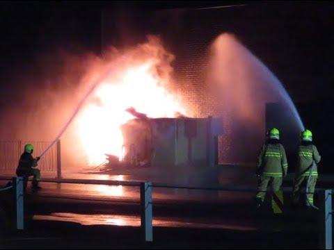 Electrical Substation Fire Ingleburn