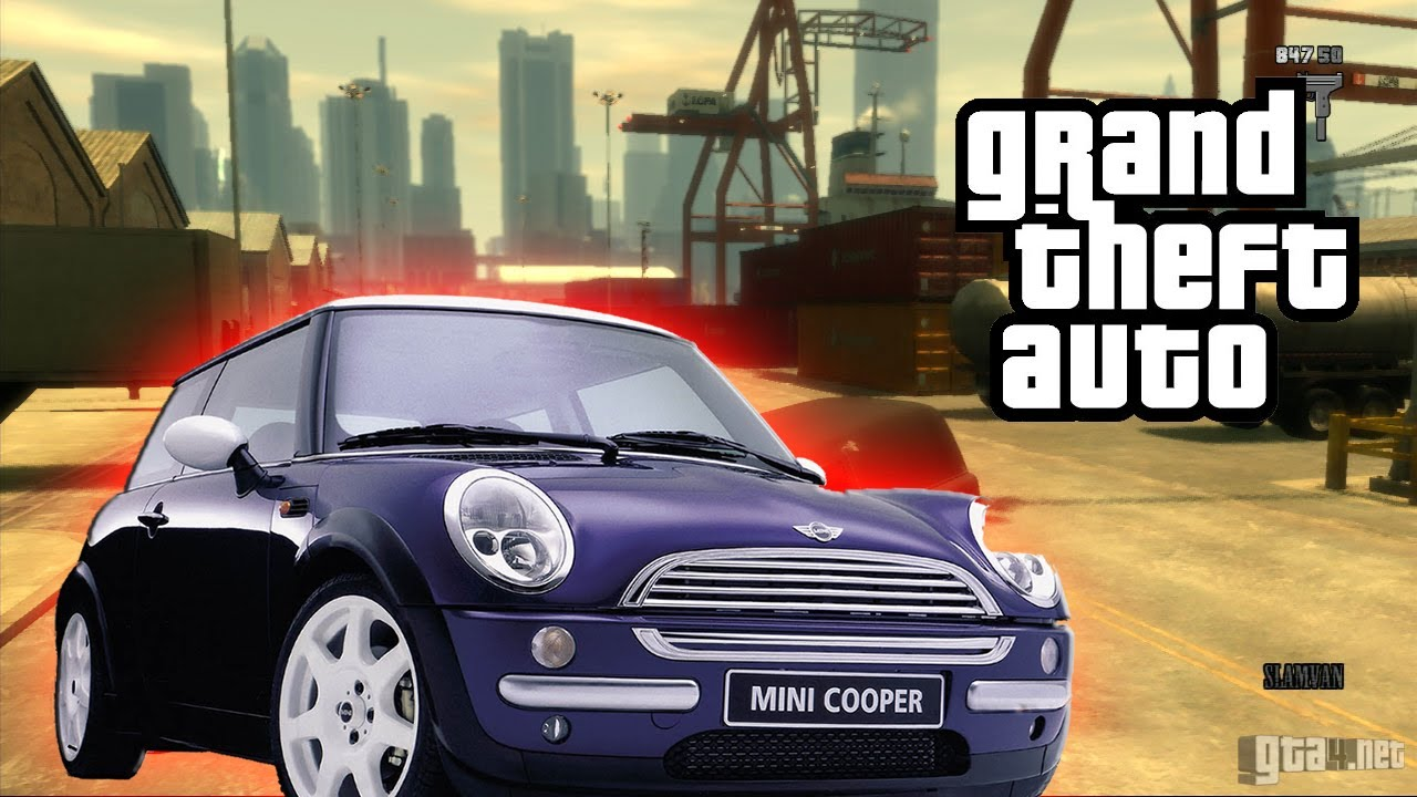 GRAND THEFT AUTO IV : MINI COOPER (MOD) - YouTube