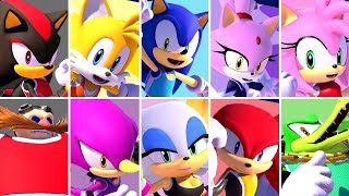 Mario & Sonic at the Olympic Games Tokyo 2020 - All Team Sonic Characters