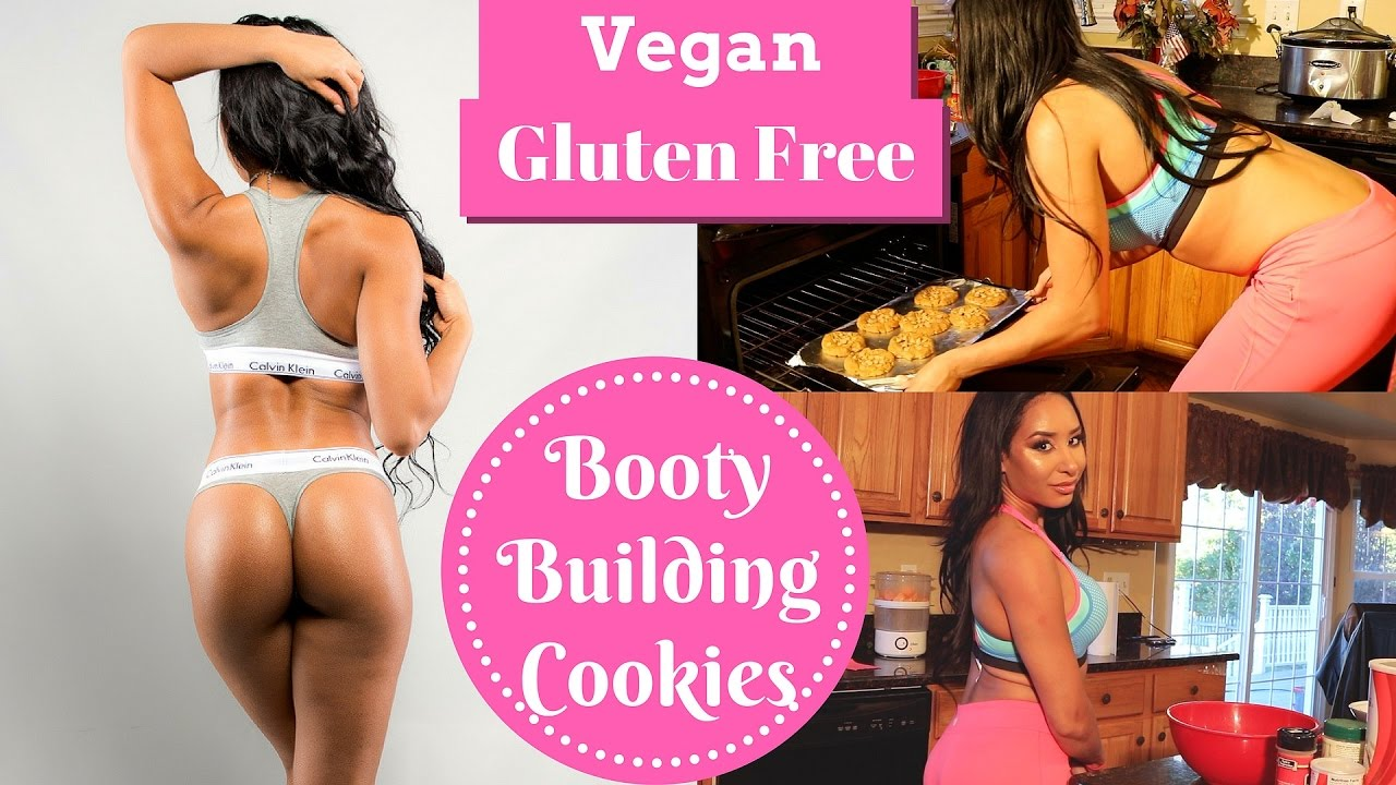 booty building cookies/vegan/gluten free - youtube