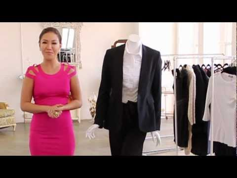 Women's Style Tips : How to Wear a Woman's Suit