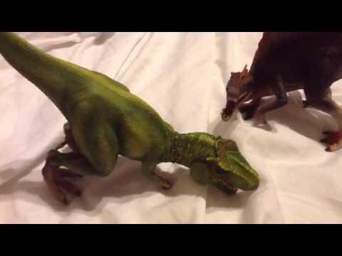 Spinosaurus vs Tyrannosaurus rex remake
