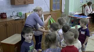 Занятие в старшей группе Коленковой Татьяны Викторовны