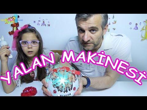 YALAN MAKİNESİ BİZİ BİRAZ GIDIKLADI - Eğlenceli Çocuk Videosu - Funny Kids Videos