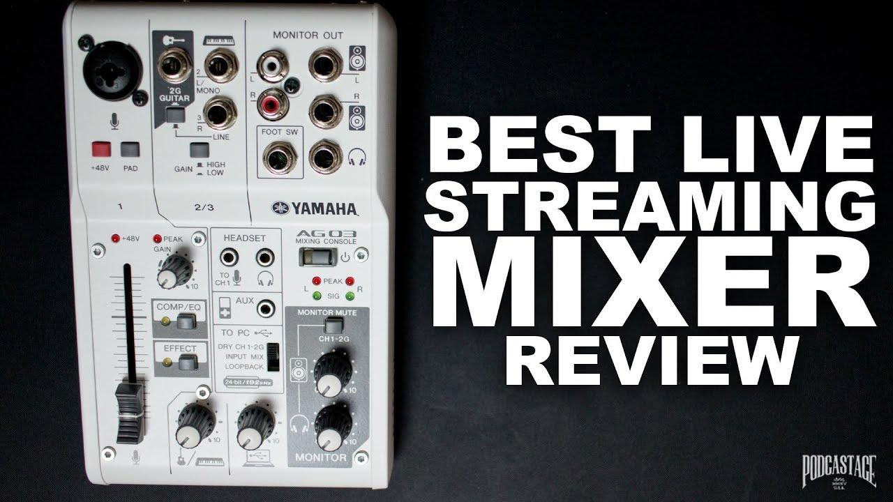 Yamaha Ag03 Usb Mixer Explained Review Pa Interface Hookup Gearslutz Pro Audio Community
