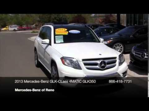 2013 mercedes benz glk class 4matic 4dr glk350 suv reno for Mercedes benz reno nv