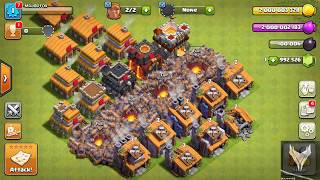 All builder hall in a single base -clash of clans | Major Fox gaming