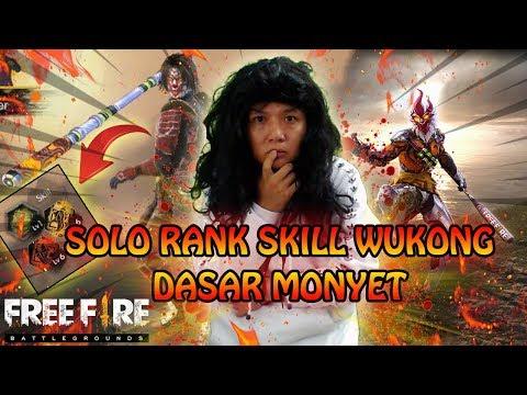 PEJUANG SOLO RANGKED SKILL WU KONG GA GUNA (ngakak online) - GARENA FREE FIRE