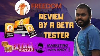 Freedom Profits Review By A BETA TESTER | Get Useful Bonus