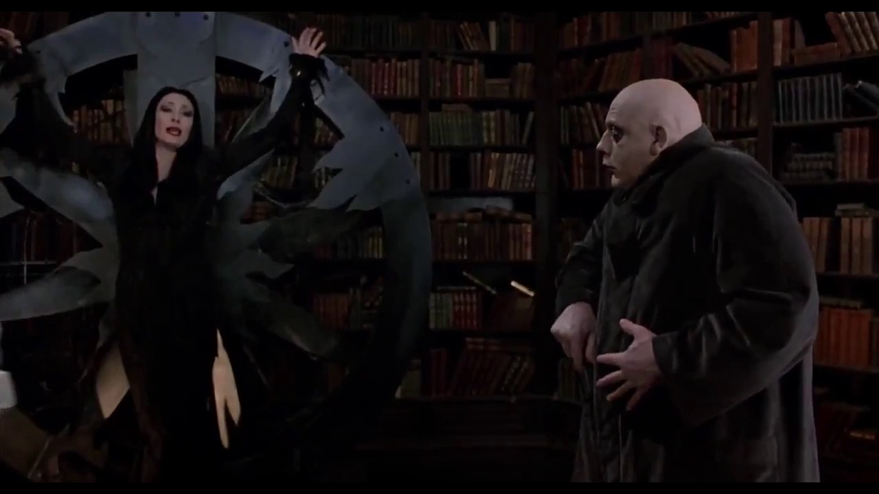 The Addams Family 1991 Rescue Youtube