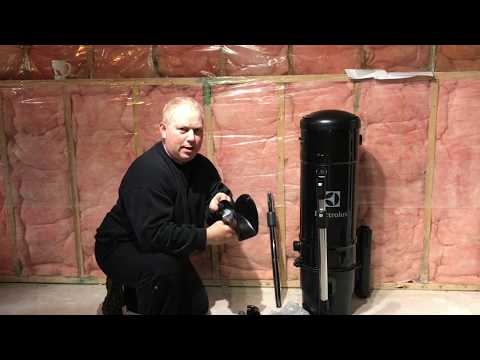 Electrolux Central Vac Unboxing, Install, Demo, Review