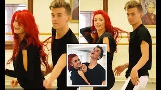 STRICTLY COME DANCING 2018 star Joe Sugg and his professional partner Dianne Buswell