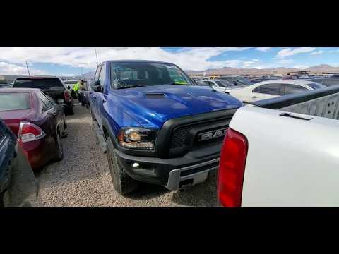 Осмотр автомобиля на аукционе Copart. Пикап Dodge Ram 1500 REBEL