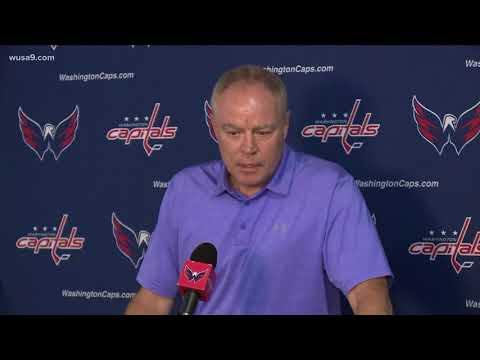 Caps coach Barry Trotz resigns