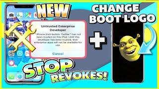 STOP Apps from Revoke/Crashing + Change Boot Logo iOS 11 - 11.1.2 (NO JAILBREAK) iPhone, iPad, iPod