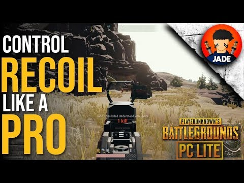 Top 5 Tips To Control Recoil In PUBG PC Lite Like A Pro 🔥🔥
