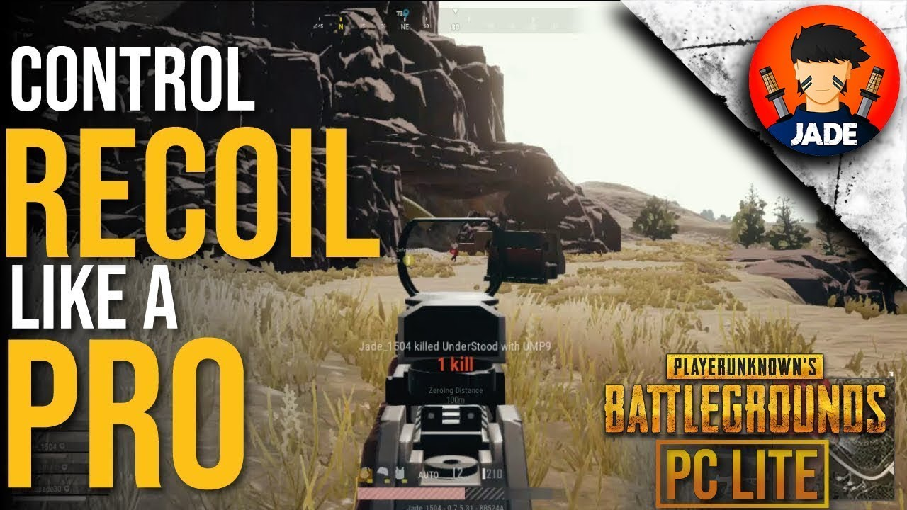 Video - Top 5 Tips to Control Recoil in PUBG PC Lite like a