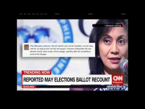 REPORTED! May election Recount!