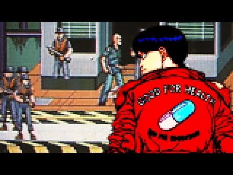 Cancelled 16-Bit Akira Gameplay Appears Online - Up At Noon Live!