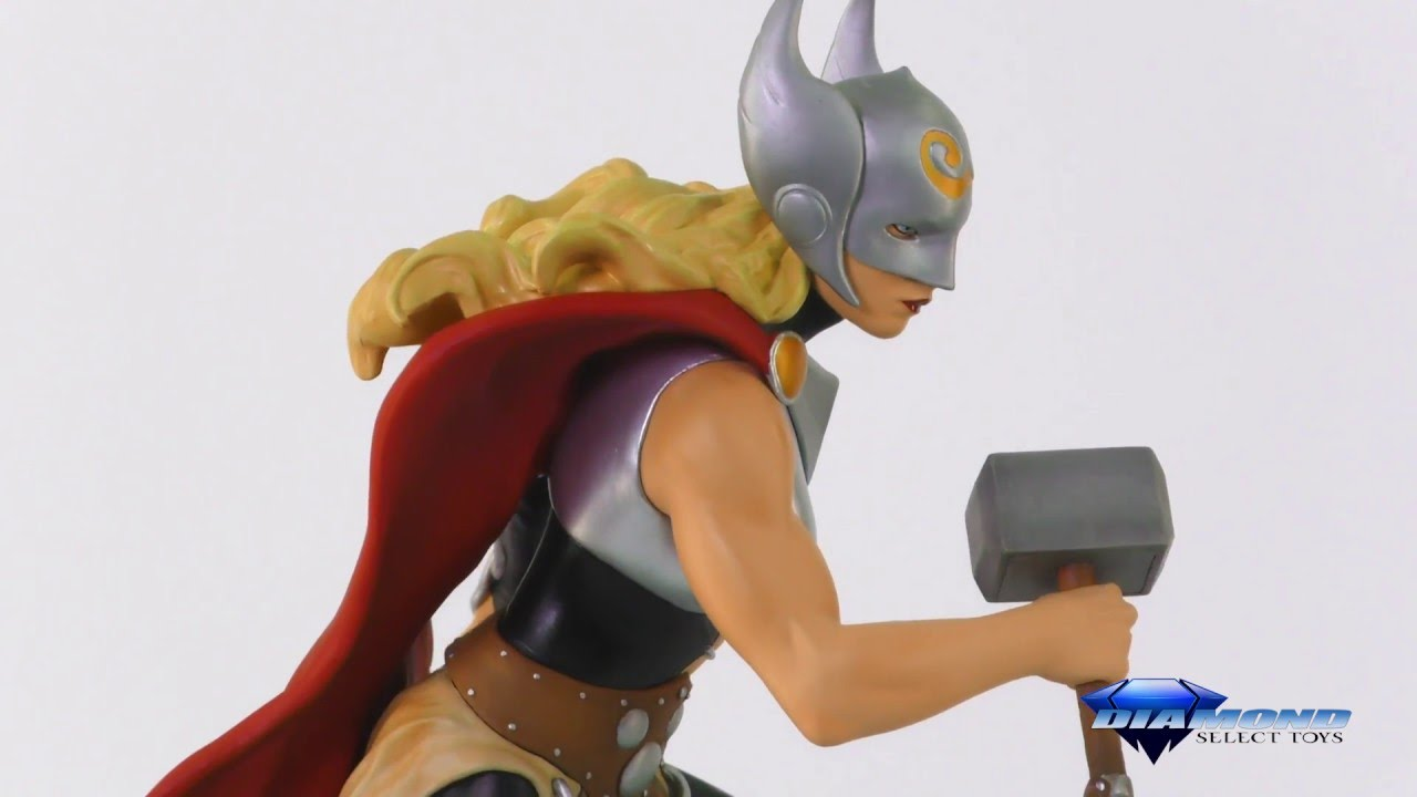 Marvel Gallery Thor PVC Figure 360 + Packaging