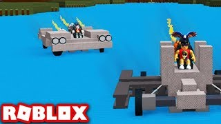BUILDING A CAR!! -Boat Simulator #5 (English Roblox)