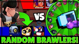 Random Brawlers with RANDOMS & Carrying EVERY Game!