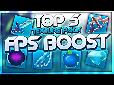 MİNECRAFT: TOP 5 FPS BOOST TEXTURE PACK!