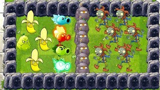 Plants vs Zombies 2 How to Defeat Jester Zombie ? Compilation of Plants Power UP