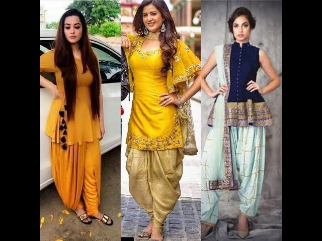 Dhoti Salwar Suit || Latest Dhoti Salwar Suit Designs 2018
