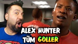 FIFA 17 ALEX HUNTER TÜM GOLLER VE ASİSTLER!