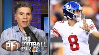 Giants ready for new era with Daniel Jones as starter | Pro Football Talk | NBC Sports