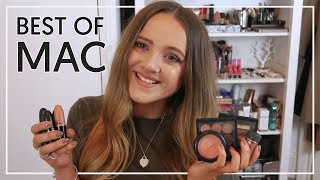 Best Of MAC Makeup | Review + Swatches!