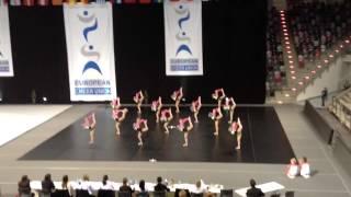 Чемпионат Европы по черлидингу, New Stars,Чир пом фристайл