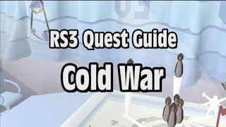 RS3: Cold War Quest Guide - RuneScape