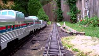 Razzbary Pond Garden Railroad: Tour & Engineer