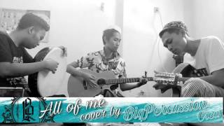 Gambar cover All of me cover by BiqPercussion crew