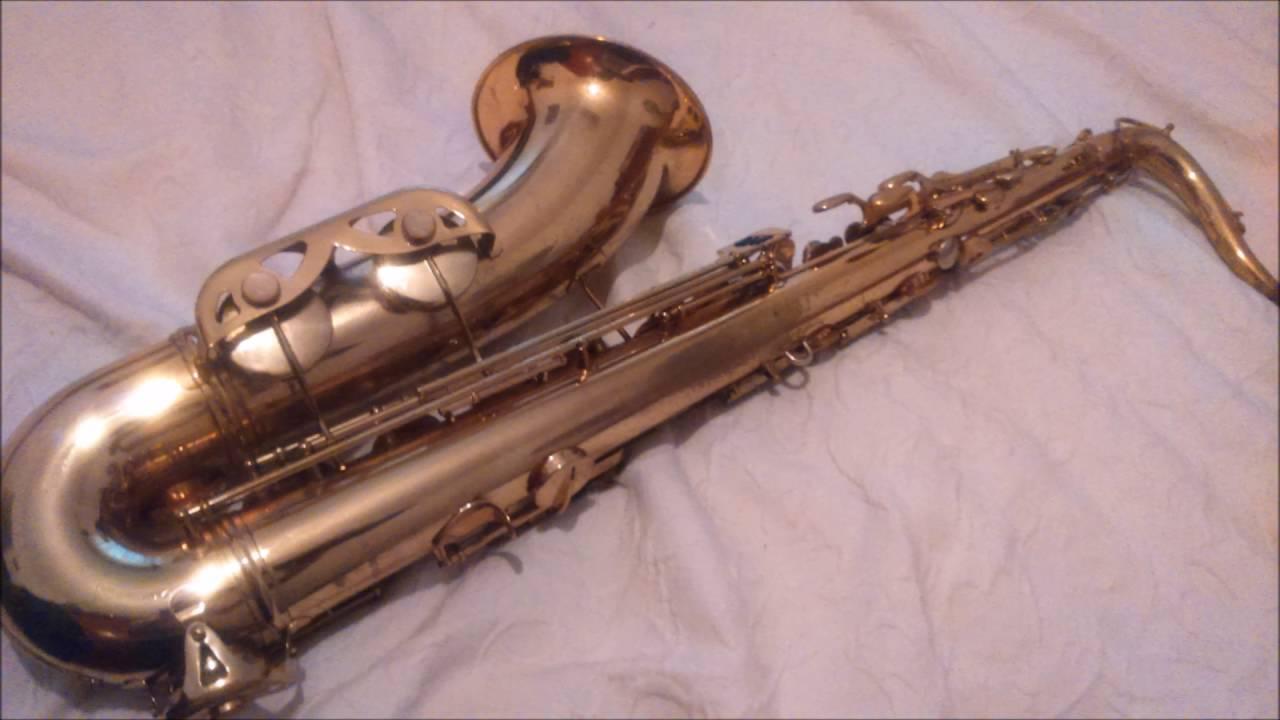 Conn Shooting star tenor demo - (Needing repairs)