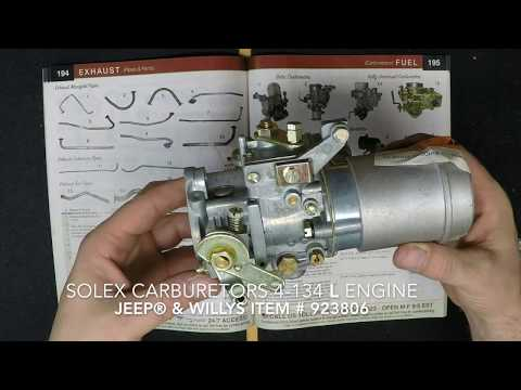 54 jeep solex carburetor diagram carburetor to air horn gasket fits 53 71 cj 3b  5  m38a1 with 4  air horn gasket fits 53 71 cj 3b  5