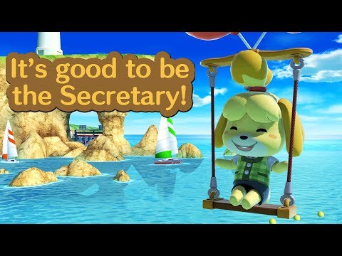 Isabelle Montage - It's good to be the Secretary (Super Smash Bros Ultimate) thumbnail