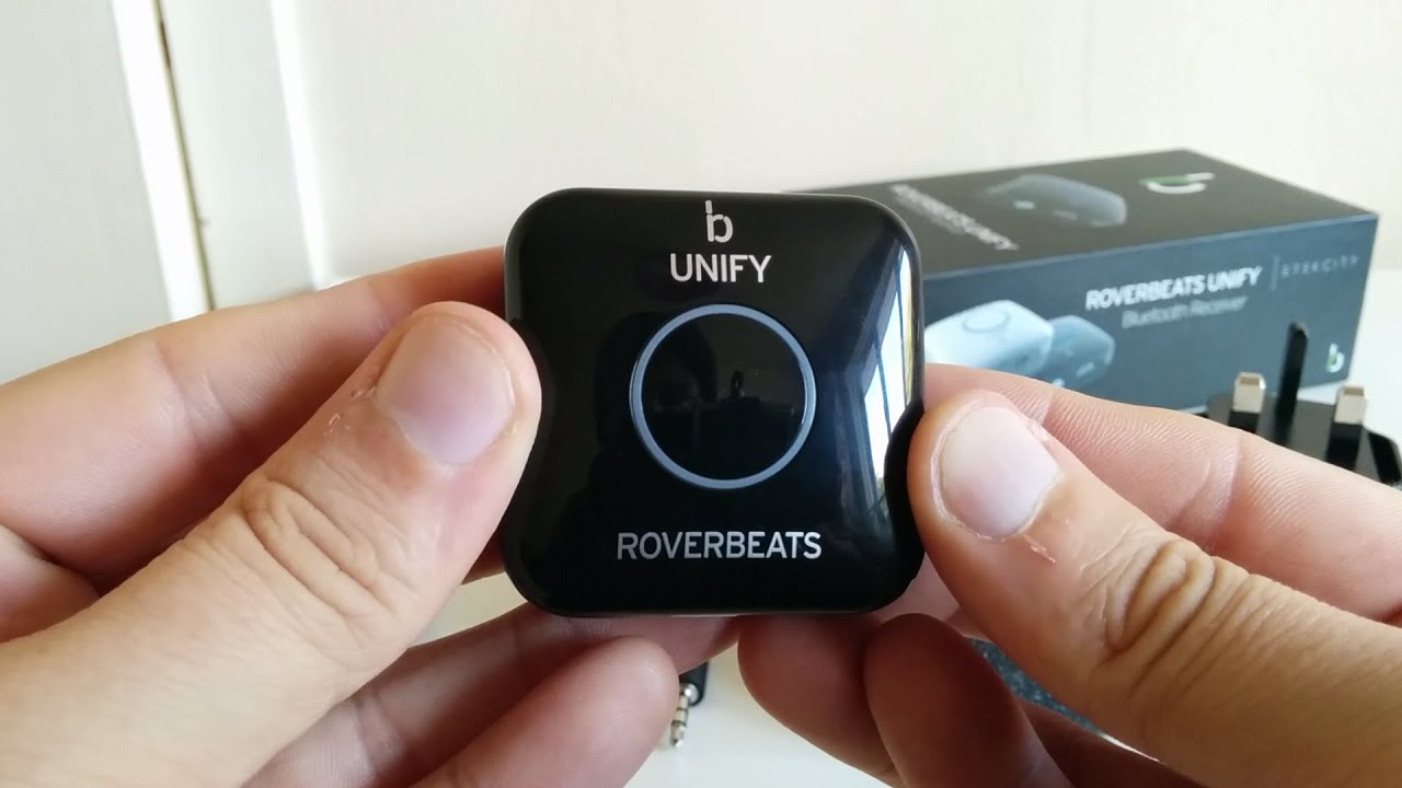 roverbeats unify bluetooth receiver review with sound test. Black Bedroom Furniture Sets. Home Design Ideas