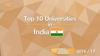 Top 10 Universities - Top 10 Universities in India 2016/17