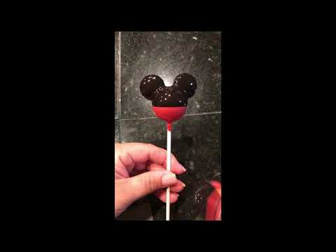 Mickey Mouse Cake Pop