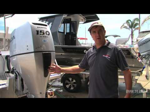 How to flush a Honda Outboard Motor