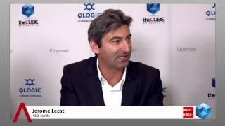 Jerome Lecat - Oracle OpenWorld 2014 - theCUBE Studio QLogic