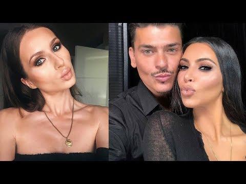 The Masterclass NYC with Mario Dedivanovic & Kim Kardashian Makeup Tutorial Step By Step